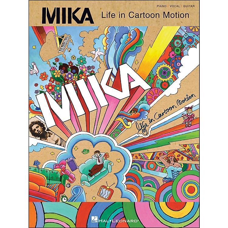 Hal Leonard Mika Life In Cartoon Motion arranged for piano, vocal, and guitar (P/V/G)