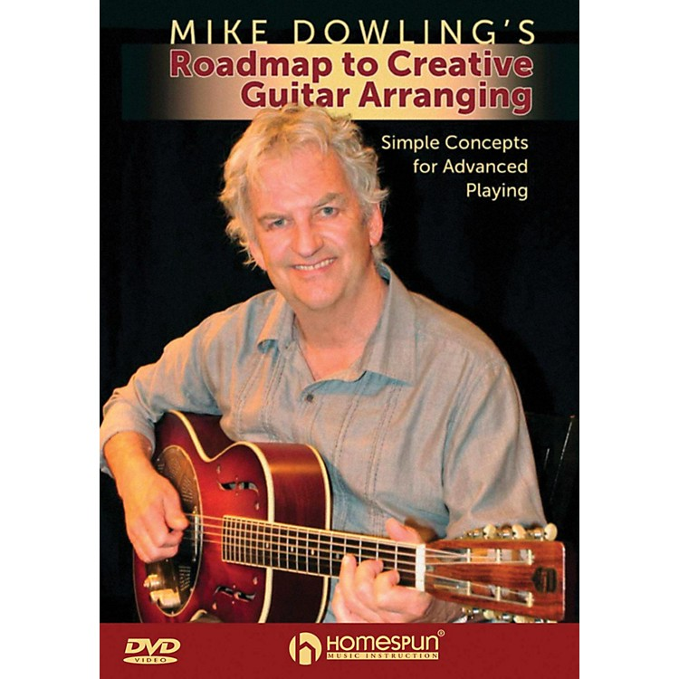 Homespun Mike Dowling's Roadmap To Creative Guitar Playing DVD
