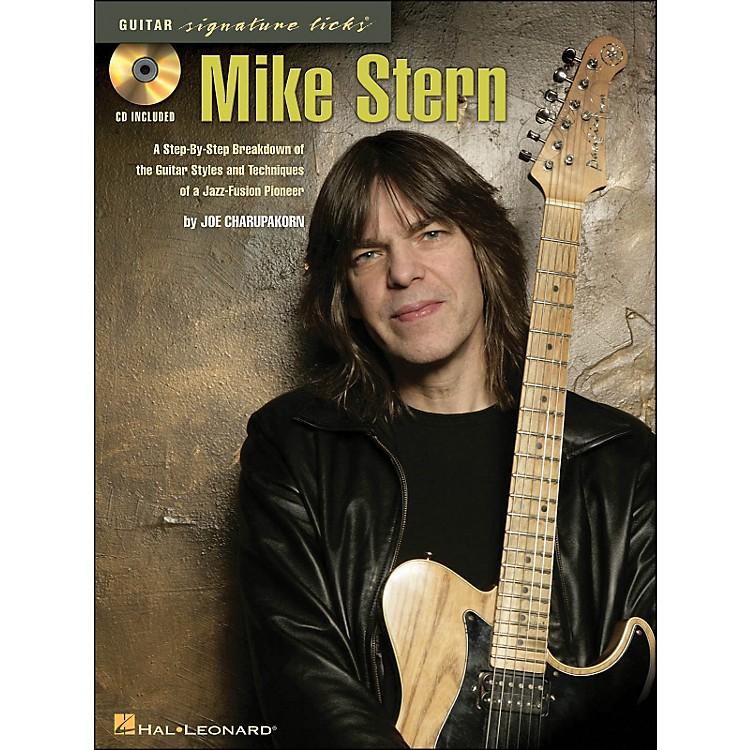 Hal LeonardMike Stern - Guitar Signature Licks Book/CD