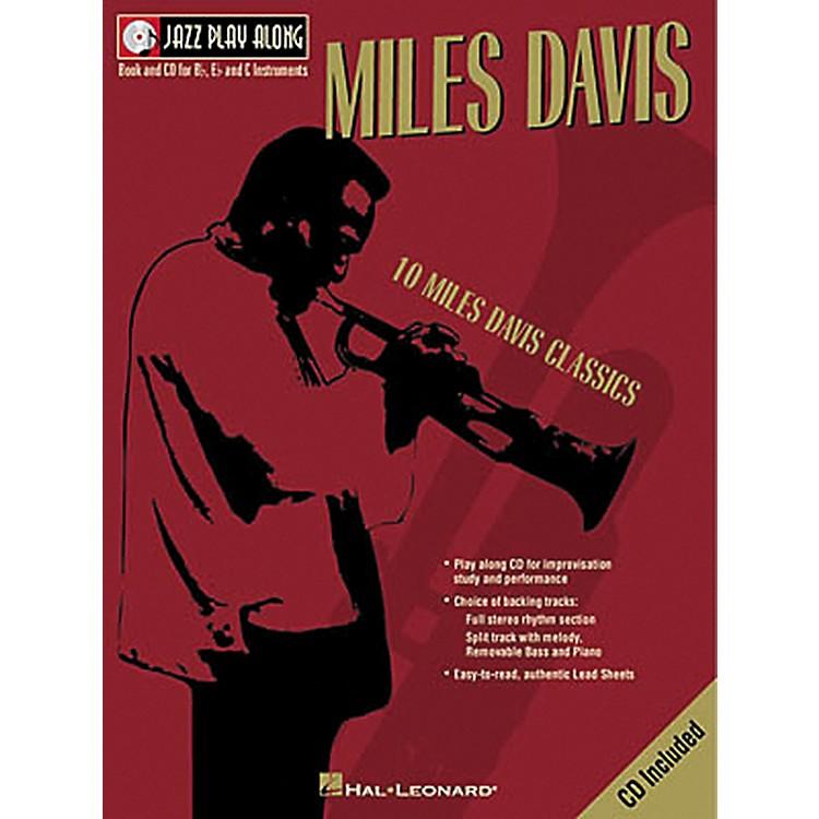 Hal LeonardMiles Davis - Jazz Play Along (Book/CD)
