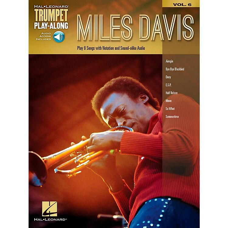 Hal LeonardMiles Davis - Trumpet Play-Along Vol. 6 Book/Audio Online