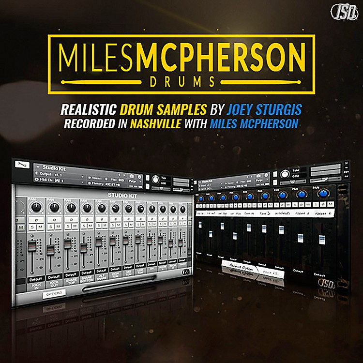 Joey Sturgis Drums Miles McPherson Drum Sample Pack
