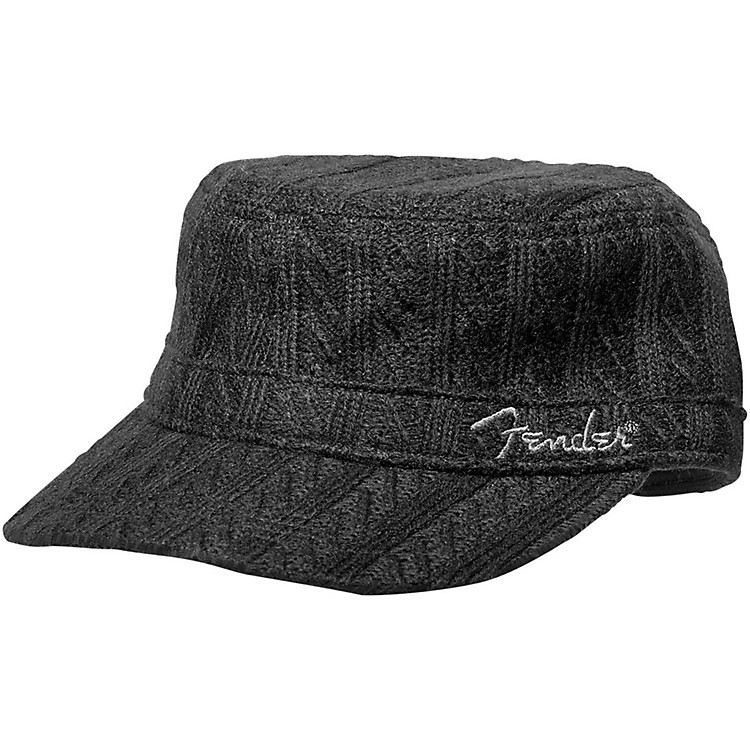 Fender Military Sweaterknit Hat - Onesize - Black