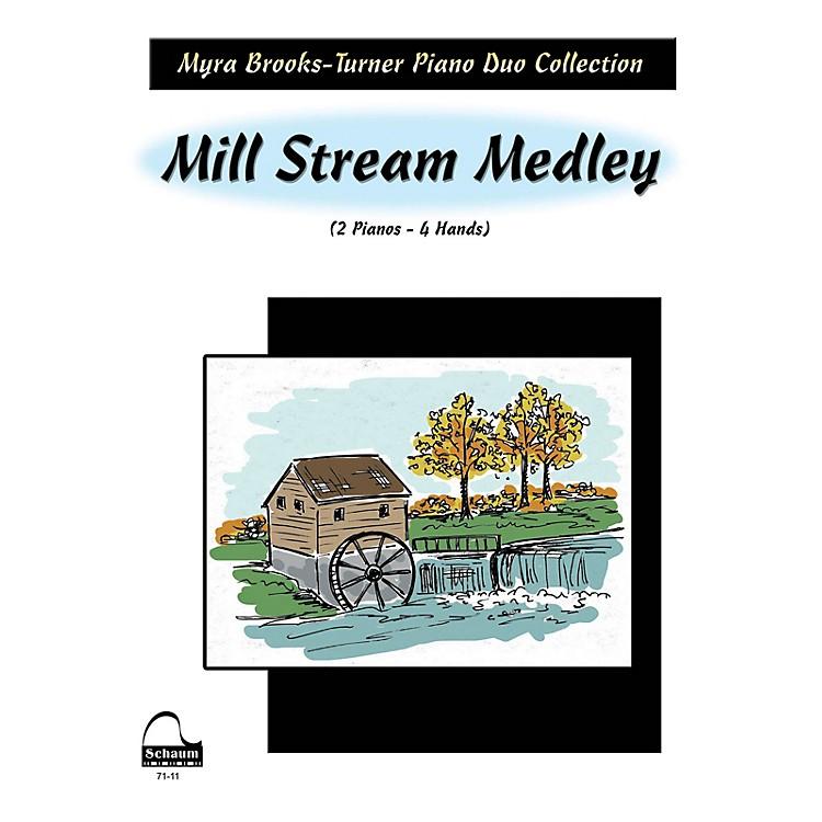 SCHAUMMill Stream Medley (2 Pianos) Educational Piano Series Softcover
