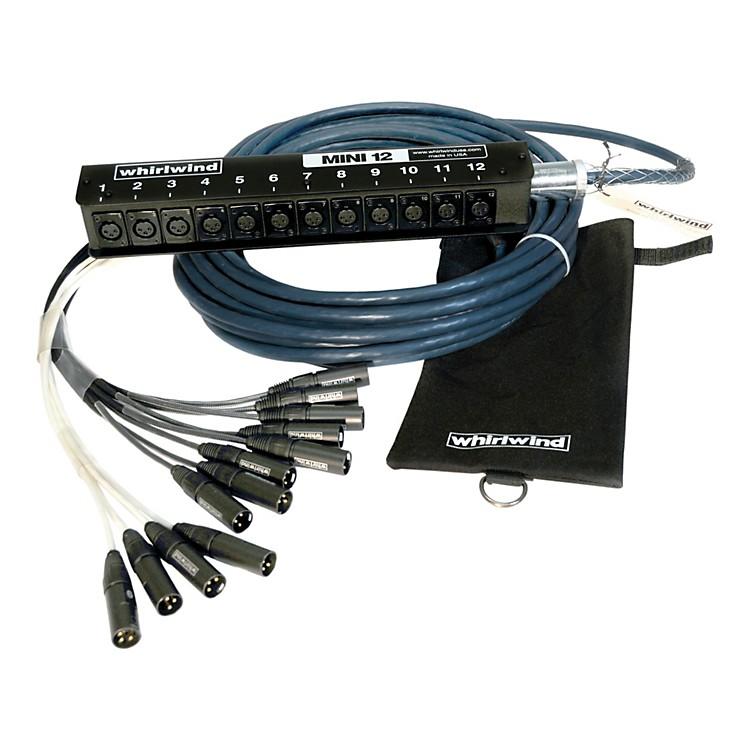 WhirlwindMini 12 Low Profile Audio Drop Snake 12 X 1250 ft.