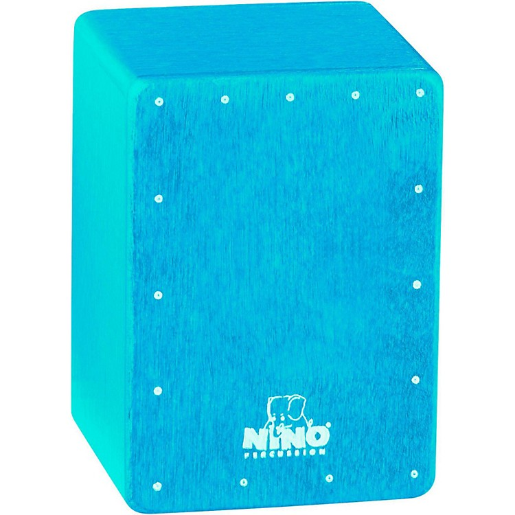 Nino Mini Cajon Shaker Blue