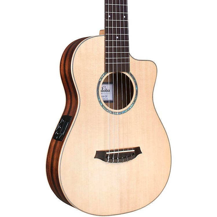 CordobaMini II EB-CE Mini Acoustic-Electric GuitarNatural