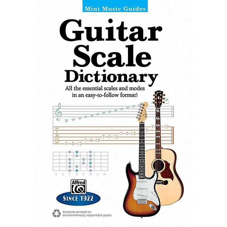AlfredMini Music Guides: Guitar Scale Dictionary - 5
