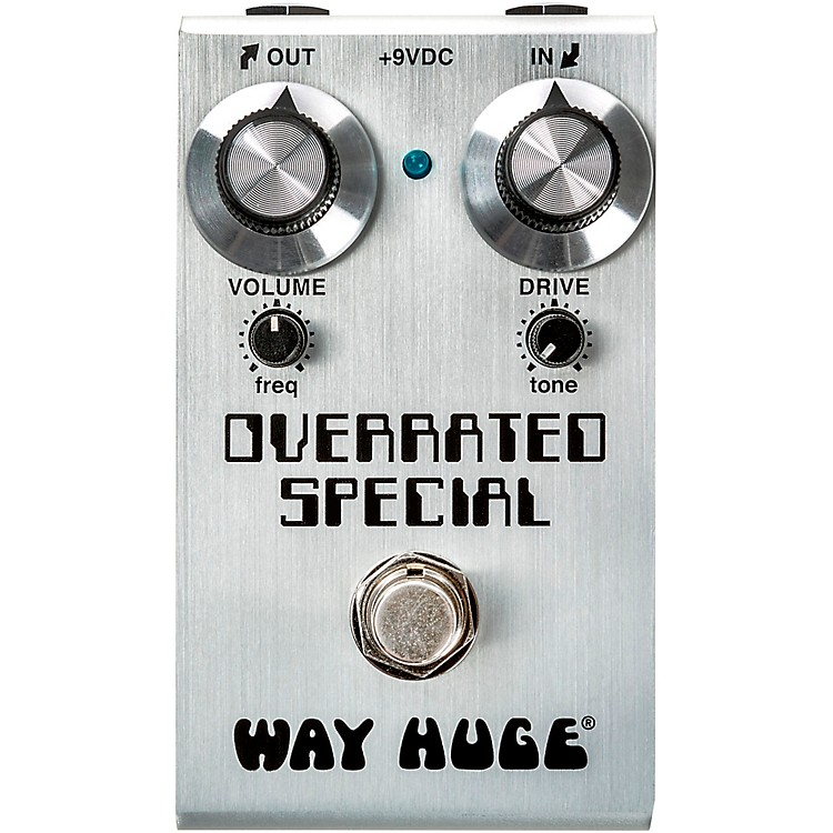Way Huge ElectronicsMini Overrated Special Overdrive Effects Pedal