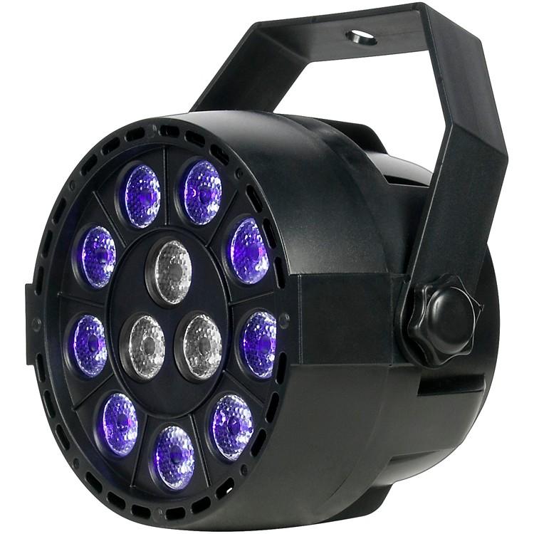 Eliminator LightingMini Par UVW LED Black Light with StrobeBlack