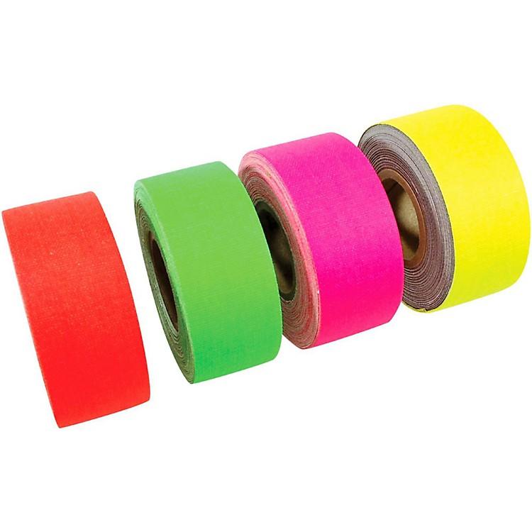 American Recorder TechnologiesMini Roll Gaffers Tape 1 In x 8 Yards - Green, Yellow, Pink, Orange