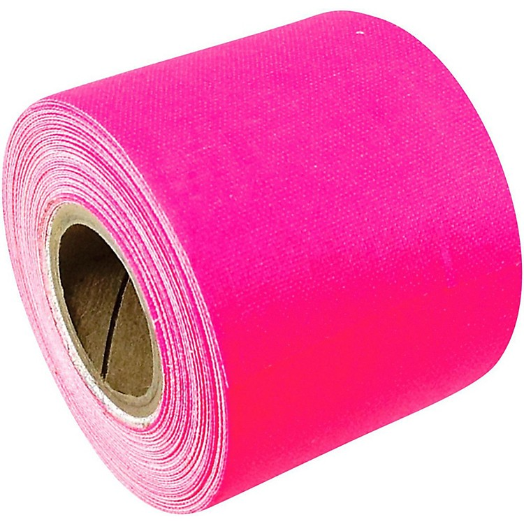 American Recorder Technologies Mini Roll Gaffers Tape 2 In x 8 Yards Flourescent Colors Neon Pink