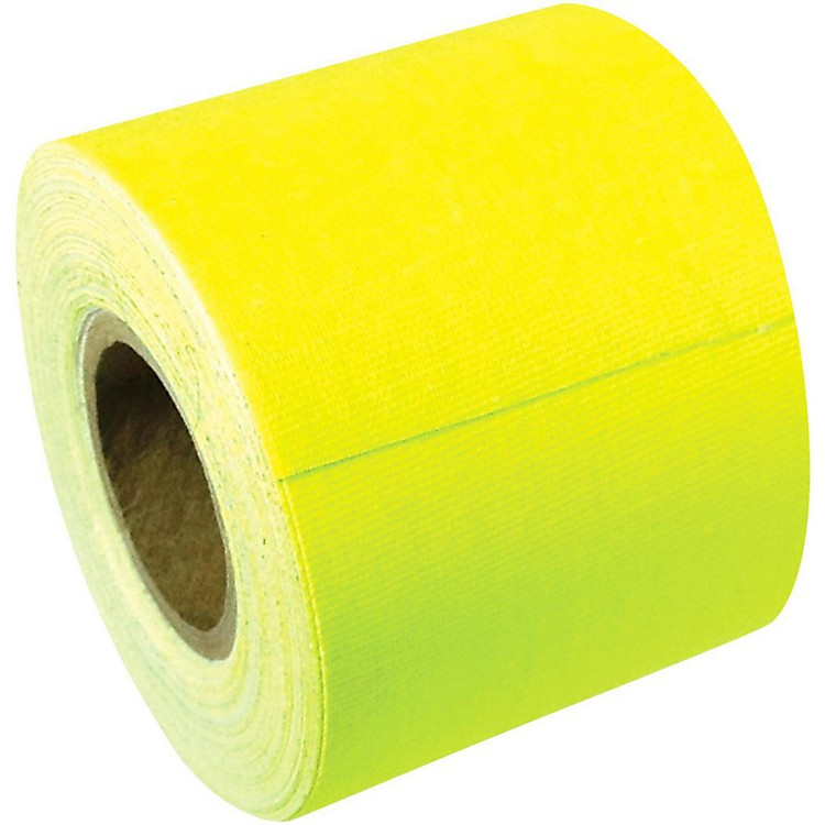 American Recorder TechnologiesMini Roll Gaffers Tape 2 In x 8 Yards Flourescent ColorsNeon Yellow