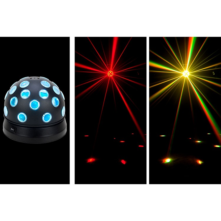 American DJMini Tri Ball II Rotating LED Color Ball