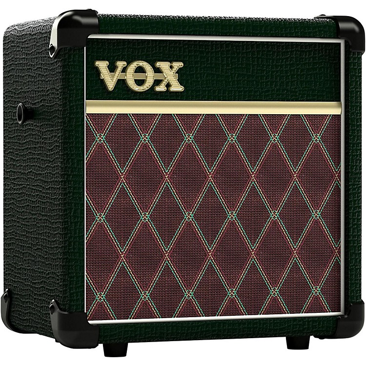 Vox Mini5 BRG 5W 1x6.5 Modeling Guitar Combo Amplifier British Racing Green