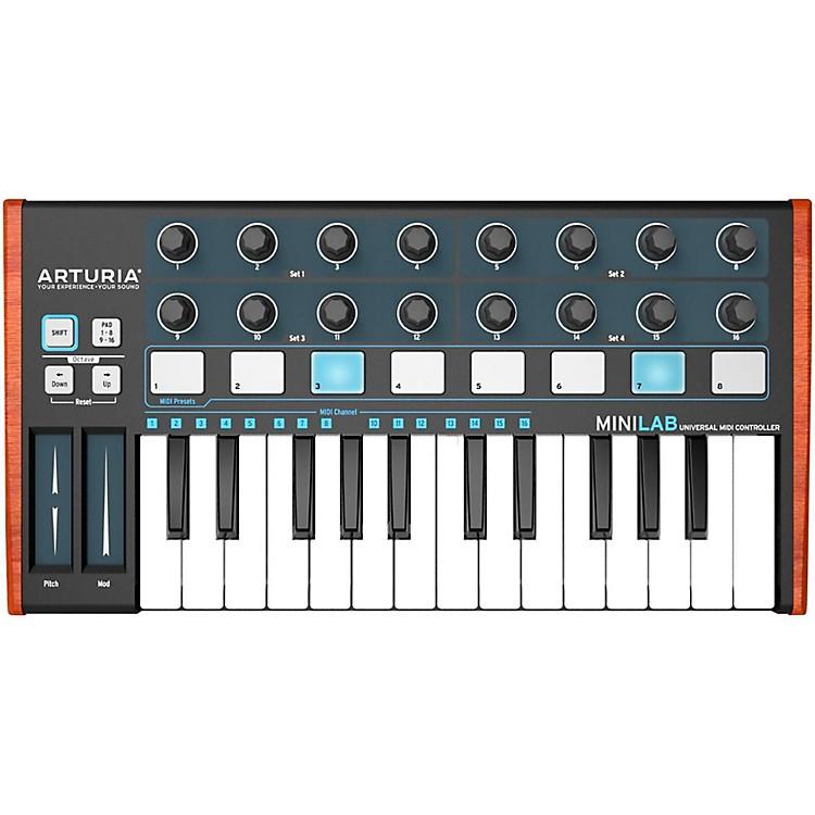 ArturiaMiniLab Mini Hybrid Keyboard Controller Black EditionBlack