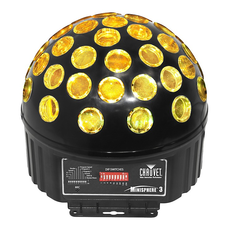 CHAUVET DJ MiniSphere 3 Rotating LED Effect Light