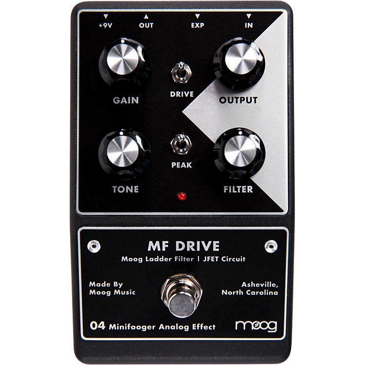 MoogMinifooger Drive Guitar Effects Pedal