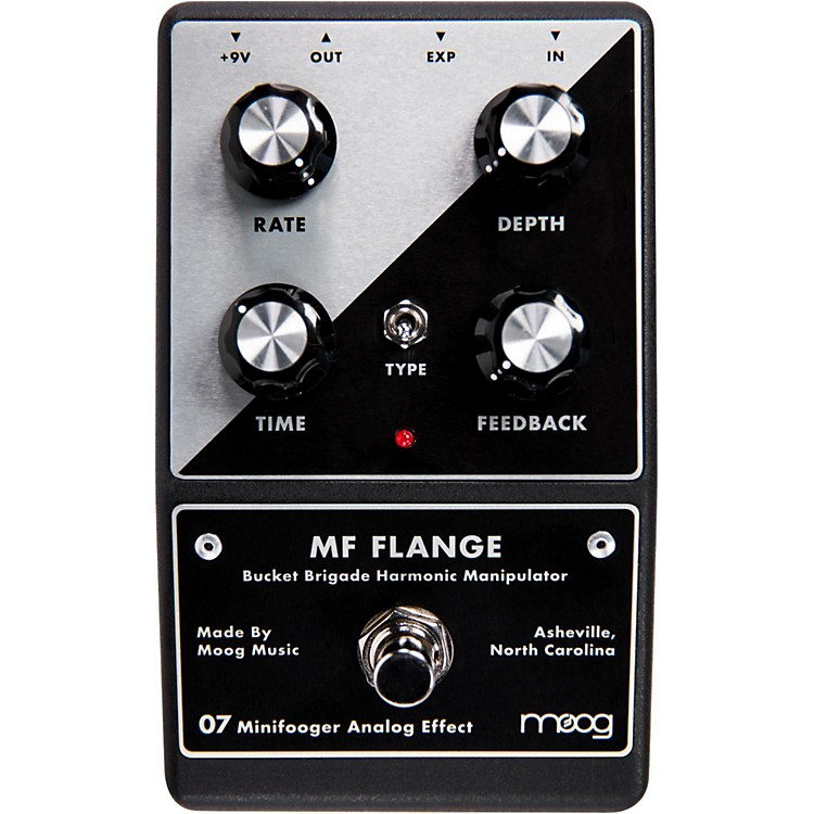MoogMinifooger Flange Guitar Effects Pedal