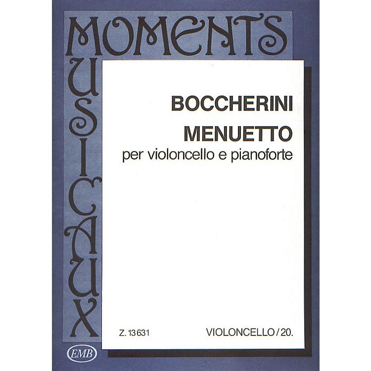Editio Musica BudapestMinuet-vcl/pno EMB Series by Luigi Boccherini