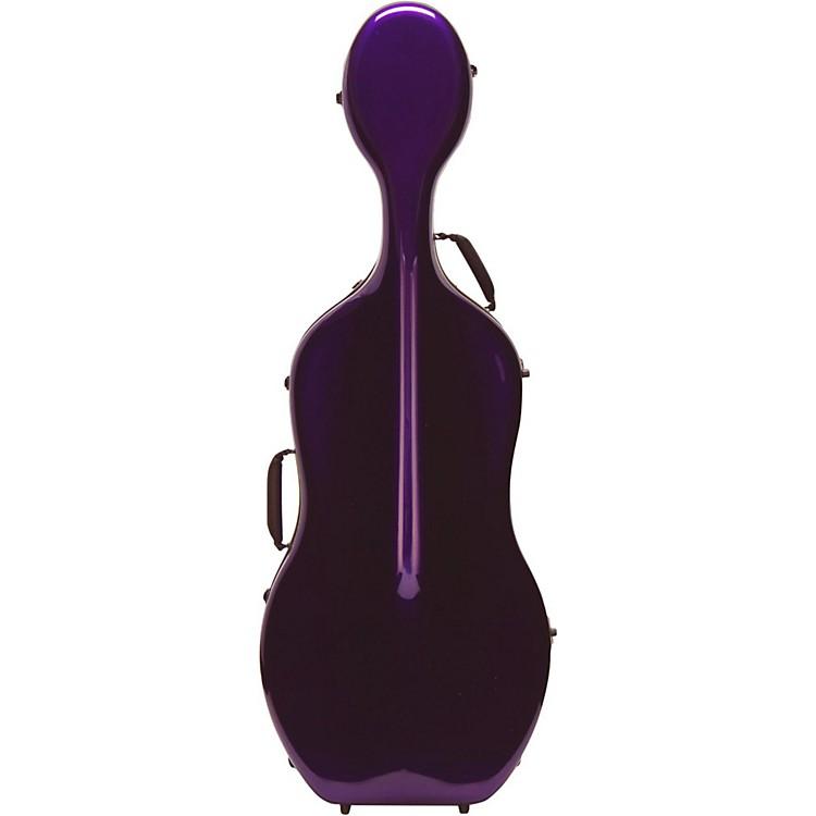 Otto MusicaMirage Series Carbon Hybrid Cello Case4/4 Purple