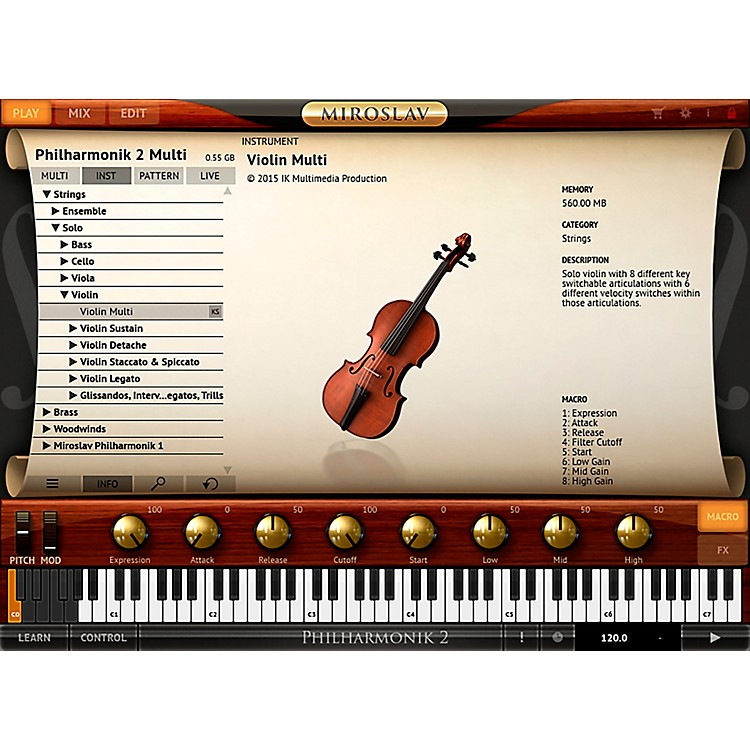 IK Multimedia Miroslav Philharmonik 2 CrossGrade (Boxed)