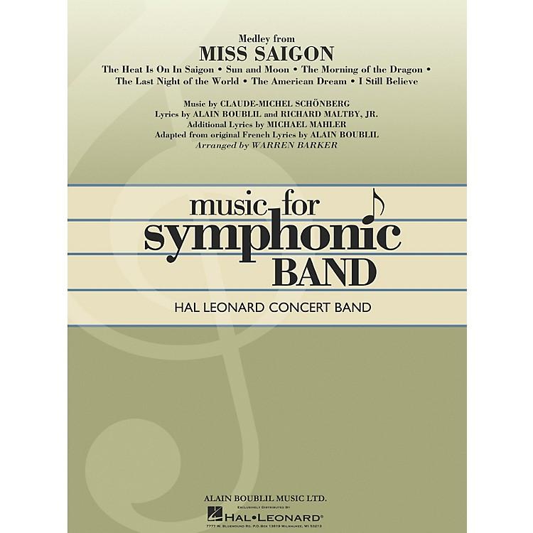 Hal LeonardMiss Saigon, Medley From Full Score Concert Band