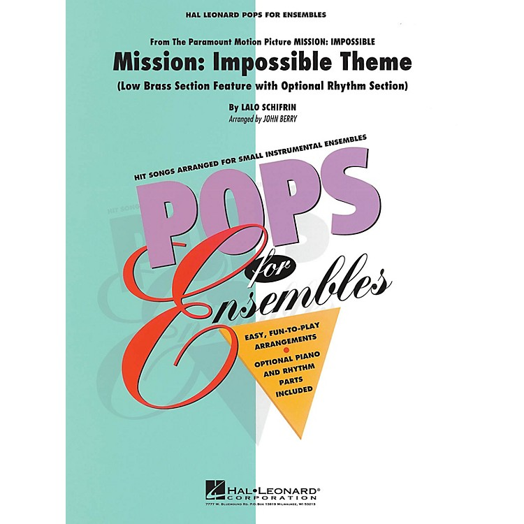 Hal LeonardMission: Impossible (Low Brass Ensemble (opt. rhythm section)) Concert Band Level 2.5 by John Berry