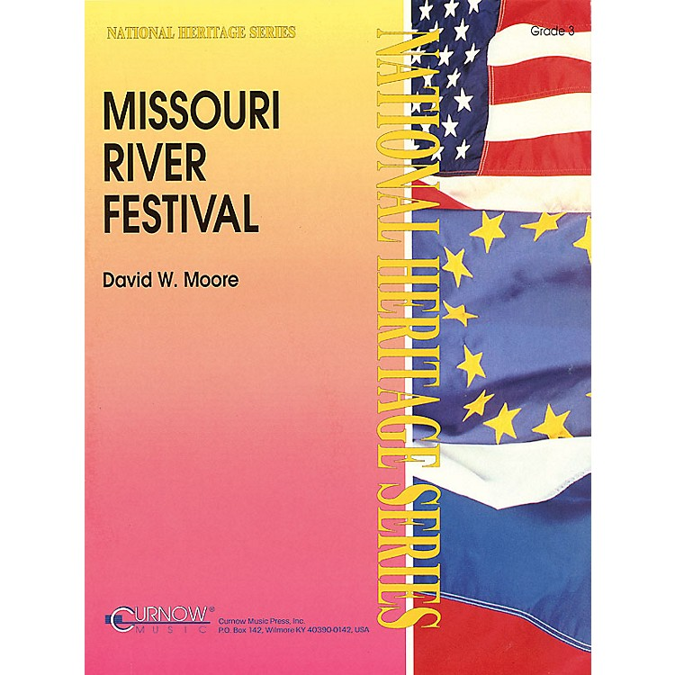 Curnow Music Missouri River Festival (Grade 3 - Score Only) Concert Band Level 3 Composed by David Moore