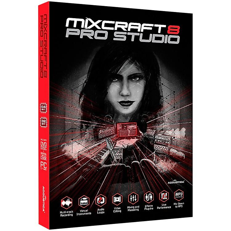 AcousticaMixcraft 8 Pro Studio Retail Edition - Box