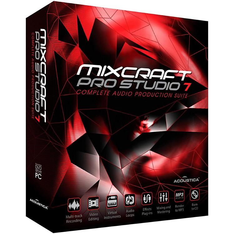 AcousticaMixcraft Pro Studio 7