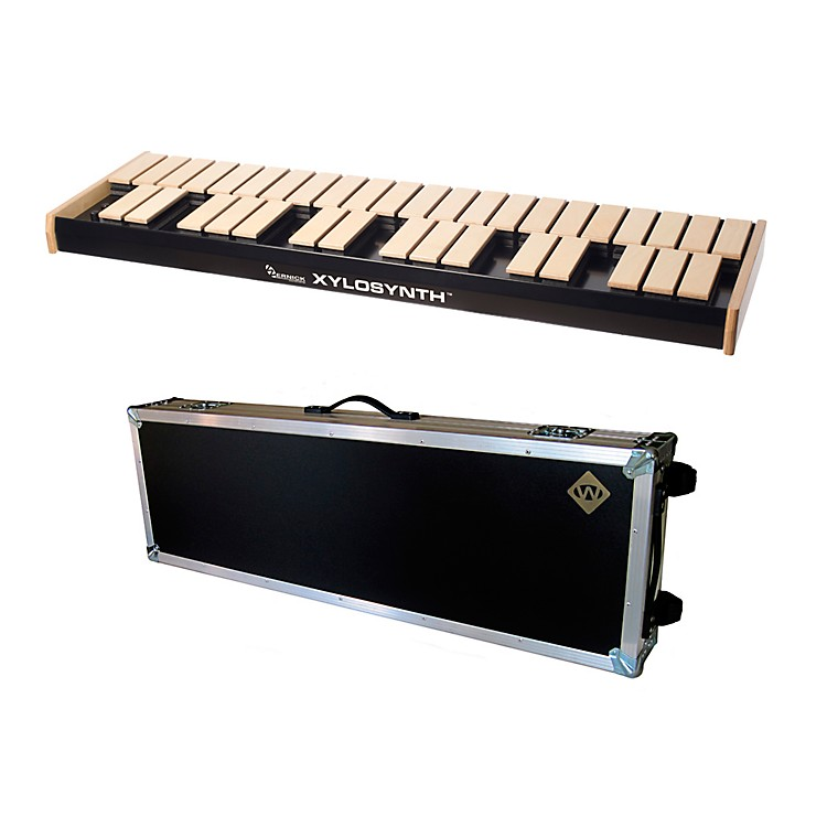 WernickMkVI Blonde Birch Xylosynth w/Button Control, Internal Sounds, Flight Case and Accessories