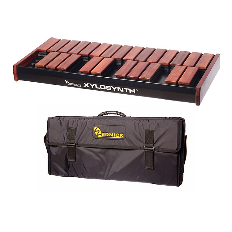 WernickMkVI Bubinga Xylosynth w/Internal Sounds and Soft Bag