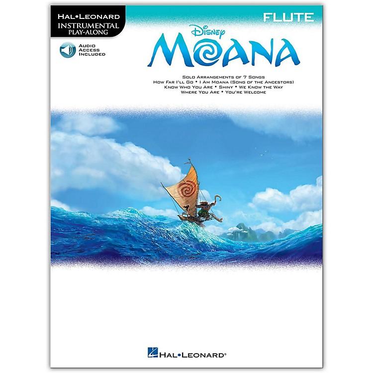 Hal LeonardMoana for Flute - Instrumental Play-Along Book/Audio Online
