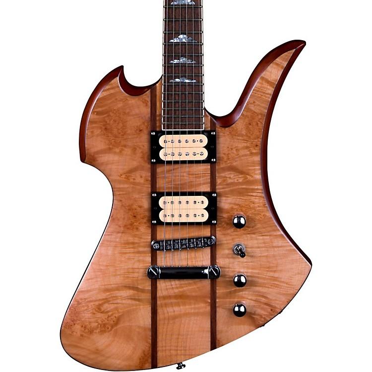 B.C. RichMockingbird Neck Through with Maple Burl Top Electric GuitarGloss Natural