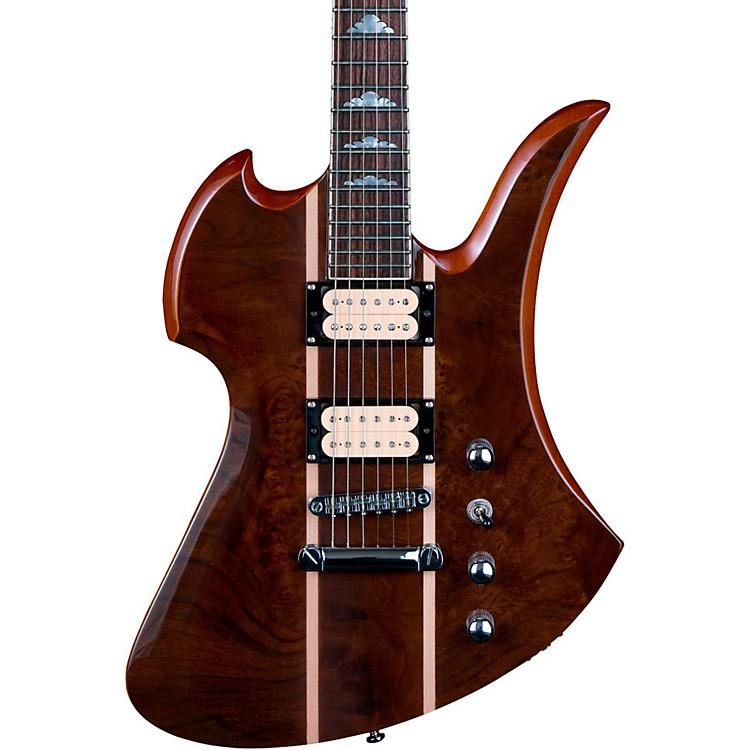 B.C. RichMockingbird Neck Through with Walnut Burl Top Electric GuitarGloss Natural
