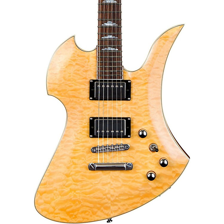 B.C. Rich Mockingbird Set Neck Electric Guitar Gloss Natural