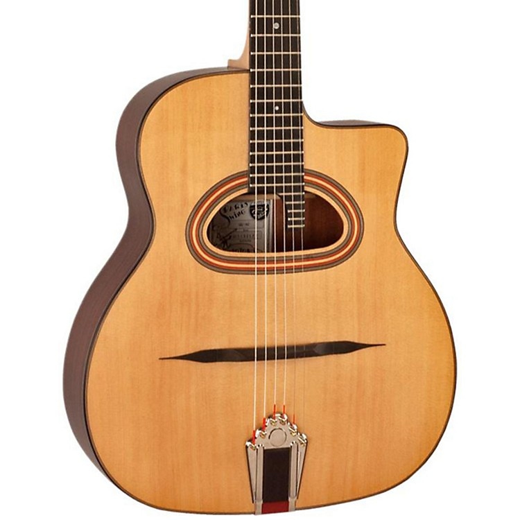 Paris SwingModel 42 D-Hole Gypsy Jazz Acoustic Guitar