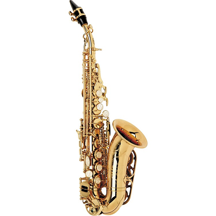 International Woodwind Model 551 Curved Soprano Saxophone Lacquer