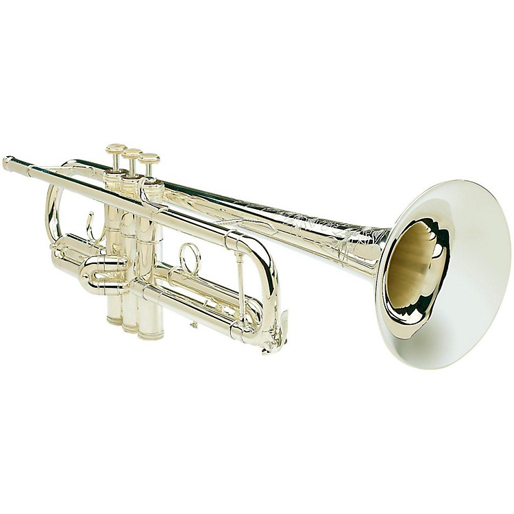 S.E. SHIRES Model CLW Series Bb Trumpet Model CLW Silver