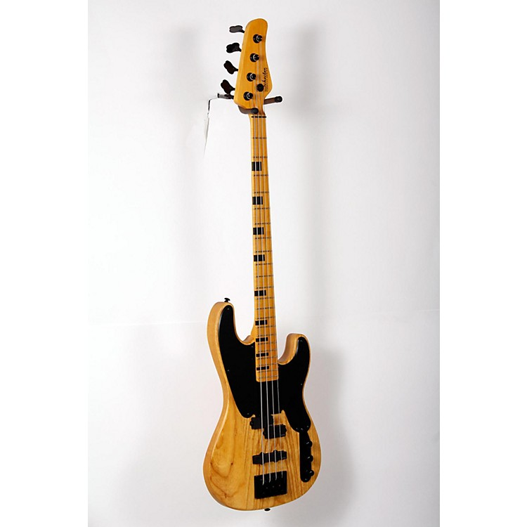 Schecter Guitar Research Model-T Session Electric Bass Guitar Satin Aged Natural 888365894768