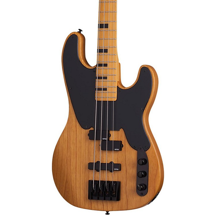 Schecter Guitar ResearchModel-T Session Electric Bass GuitarSatin Aged Natural888365894768