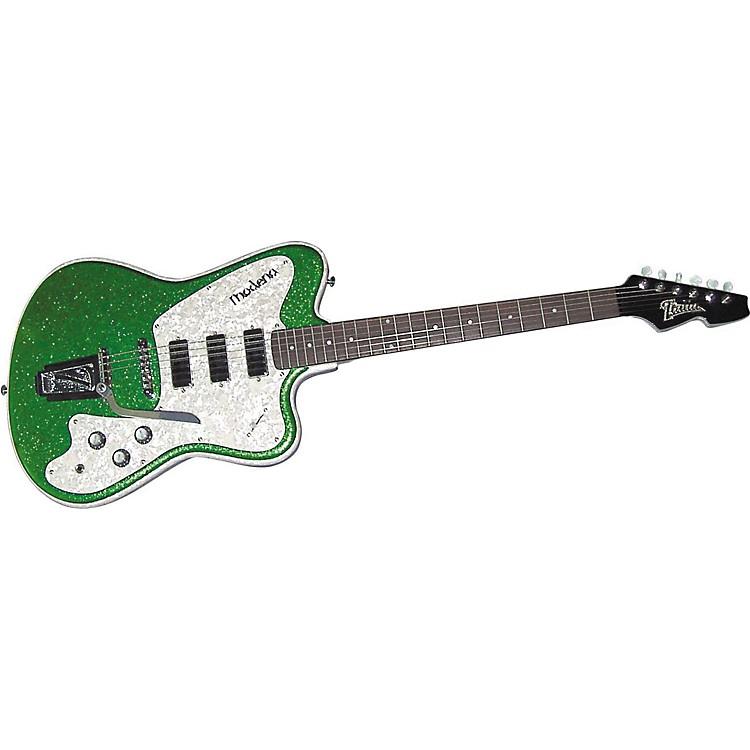 ItaliaModena Classic Left-Handed Electric GuitarSilver