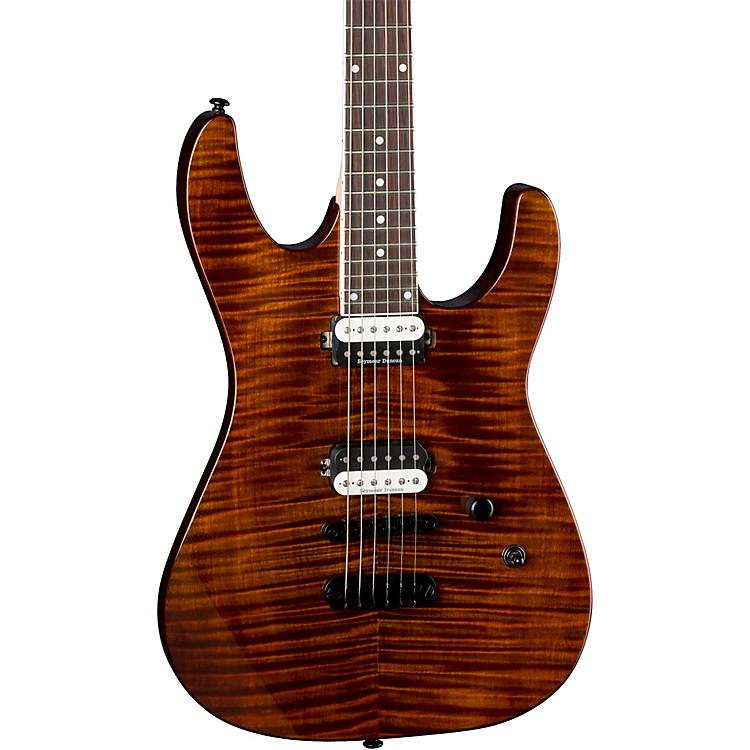 DeanModern 24 Select Flame Maple Top Electric GuitarTiger Eye