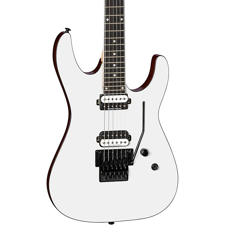 DeanModern 24 Select with Floyd Rose Bridge Electric GuitarClassic White