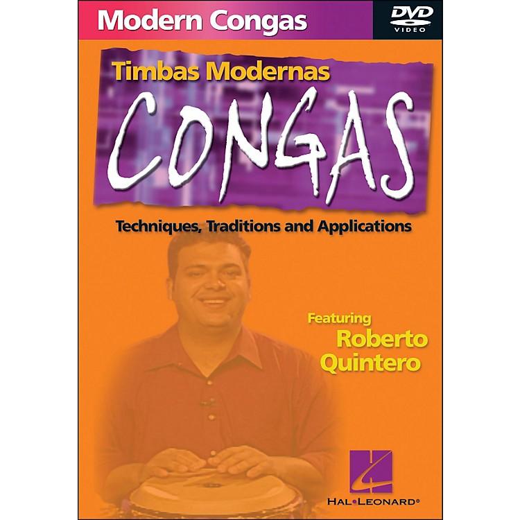Hal LeonardModern Conga Techniques DVD