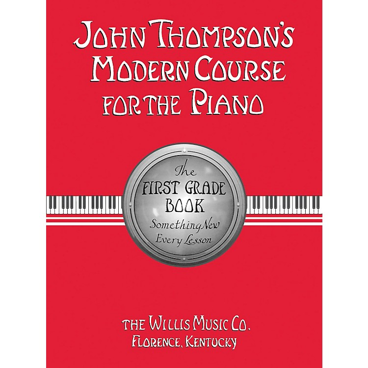 Hal Leonard Modern Course For The Piano First Grade Book