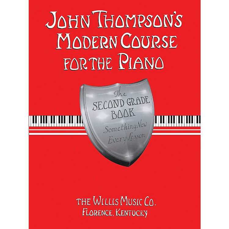 Hal Leonard Modern Course For The Piano Second Grade Book