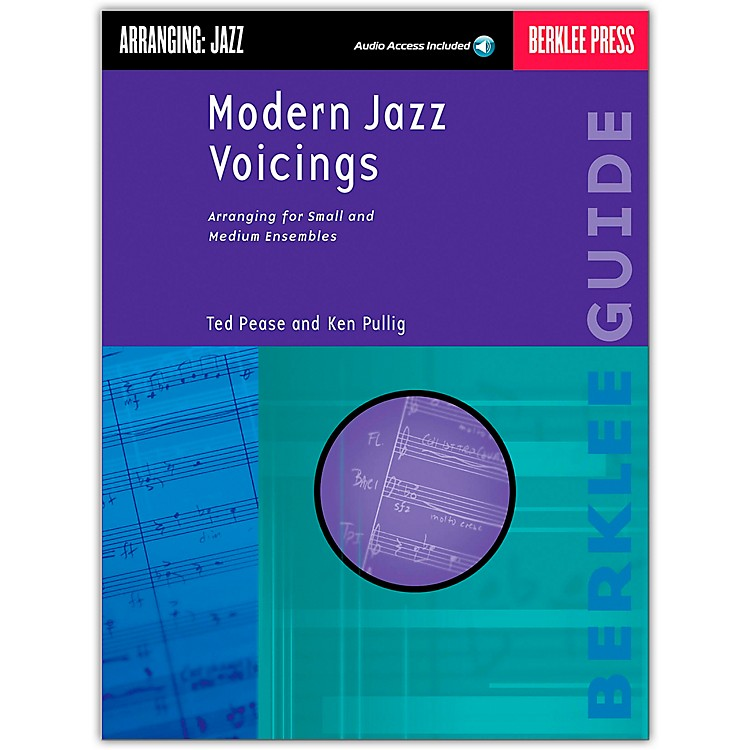 Berklee PressModern Jazz Voicings Arranging for Ensembles Book/Online Audio