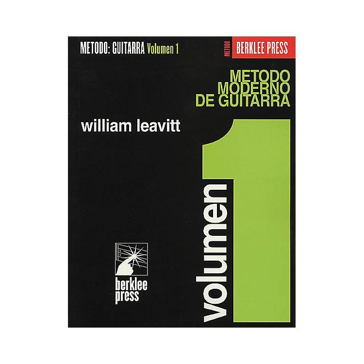 Berklee PressModern Method for Guitar (Spanish Edition) - Volume 1 Book